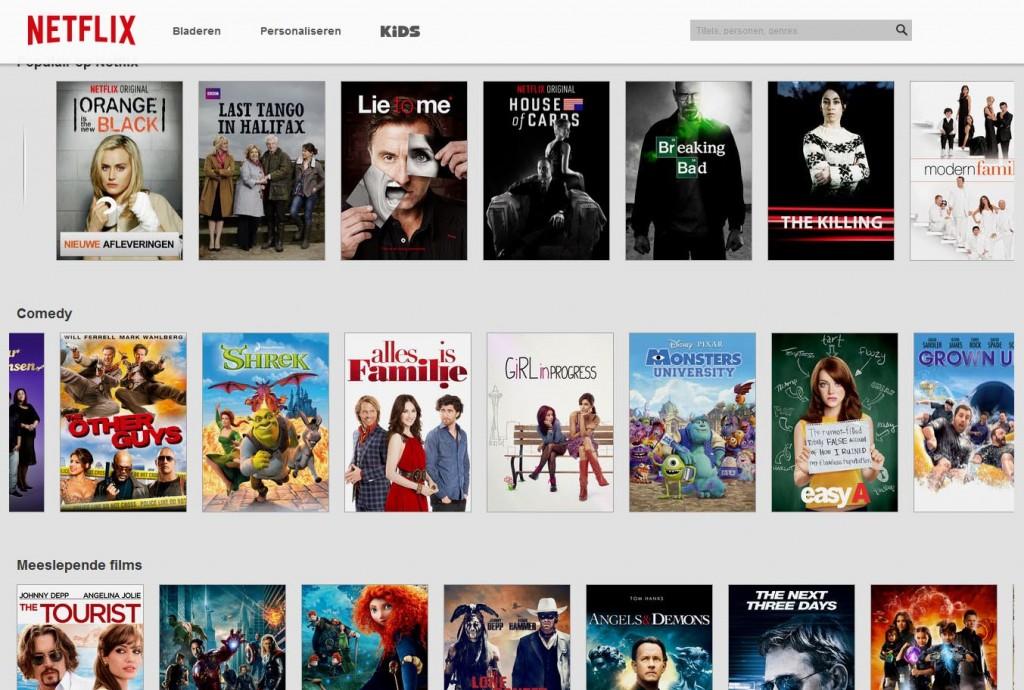 Netflix update met nieuw logo en frisser uiterlijk ...