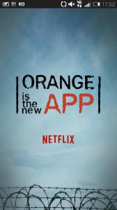 Orange is the New App Netflix
