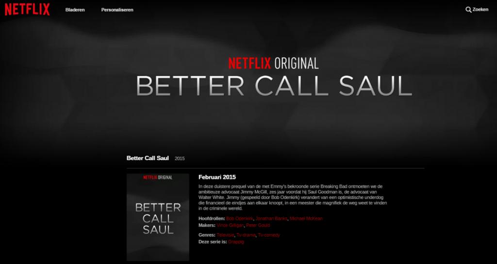 netflix better call