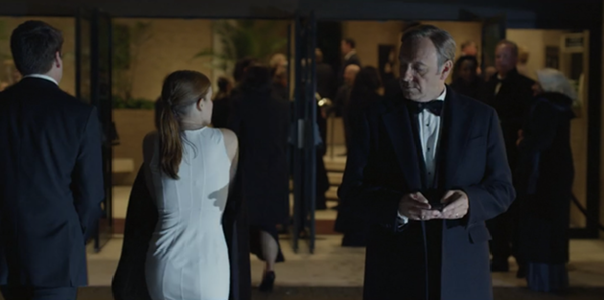 House Of Cards Zoe And Frank Scenes