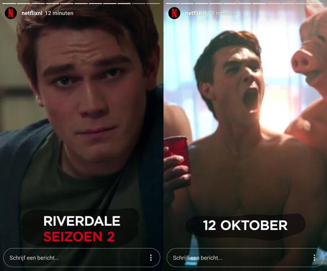 riverdale seizoen 2 oktober netflix