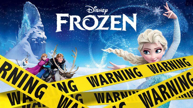Frozen verwijderd Netflix