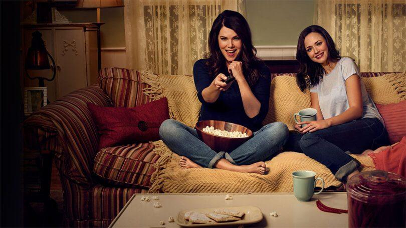 Gilmore Girls bingeracen Netflix