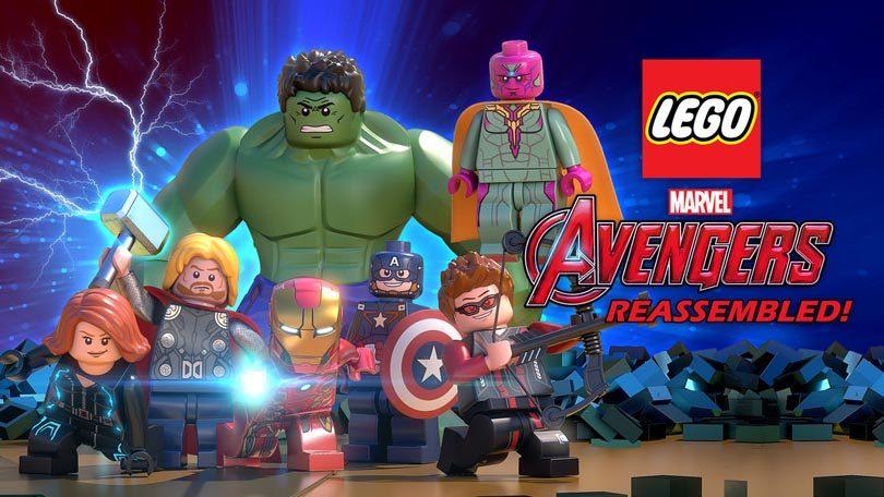 LEGO Marvel Avengers Netflix