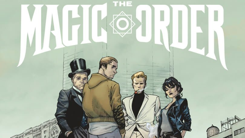 The Magic Order Millarworld Netflix