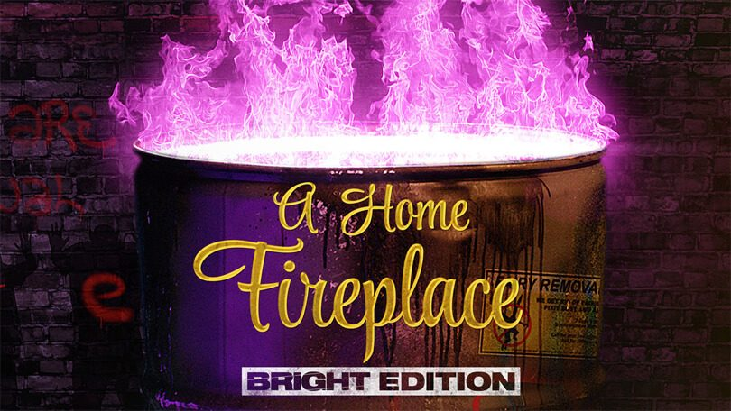 Bright Fireplace