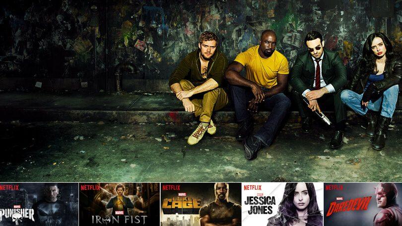 Volgorde Marvel-series Netflix