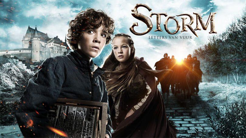 Storm Letters van Vuur Netflix