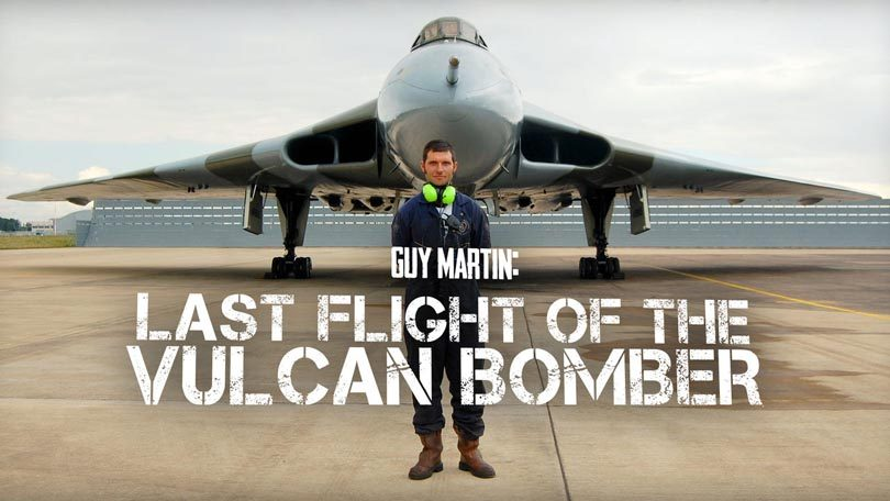 Guy Martin Last Flight of the Vulcan Bomber Netflix