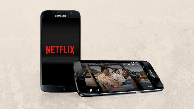 Netflix videospeler update