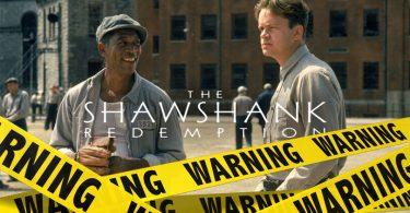 Shawshank Redemption verwijderd Netflix