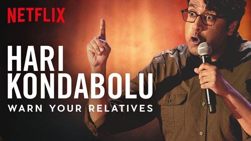 Hari Kondabolu Warn Your Relatives Netflix