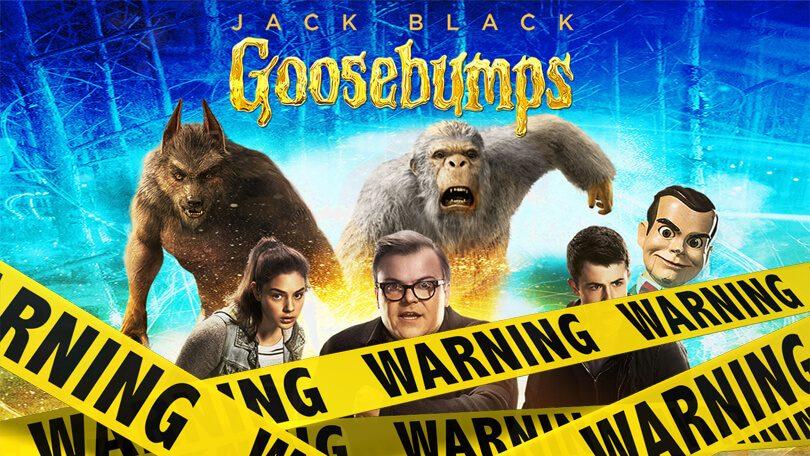 Goosebumps verwijderd Netflix