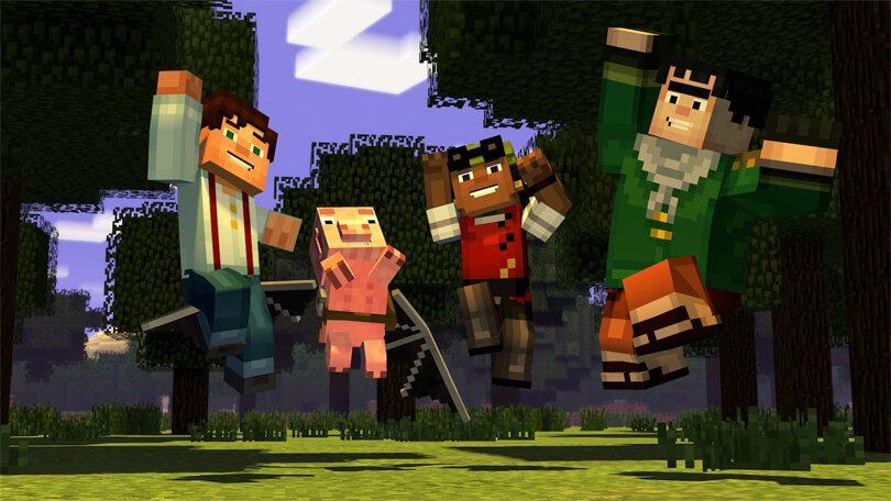 Netflix Minecraft Story Mode