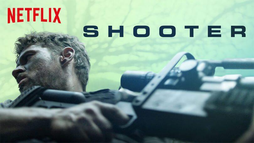 Shooter seizoen 3 uitzendschema Netflix