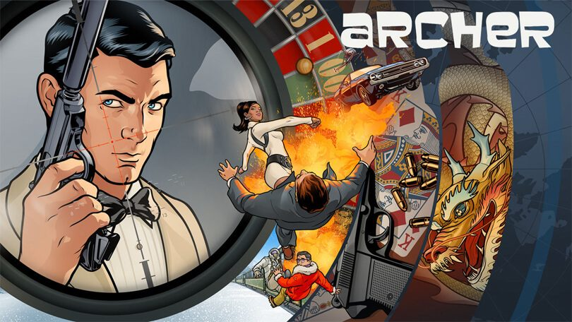 Archer seizoen 9 Netflix