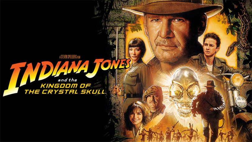 Indiana Jones Crystal Skull Netflix