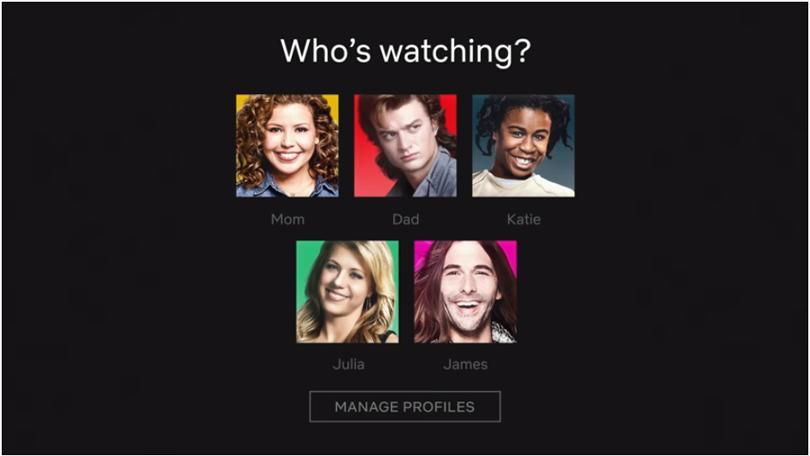 Netflix profiel