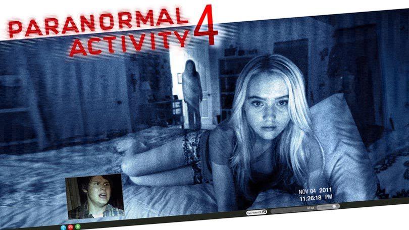 Paranormal Activity 4 Netflix