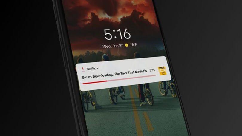 Smart Downloads Netflix