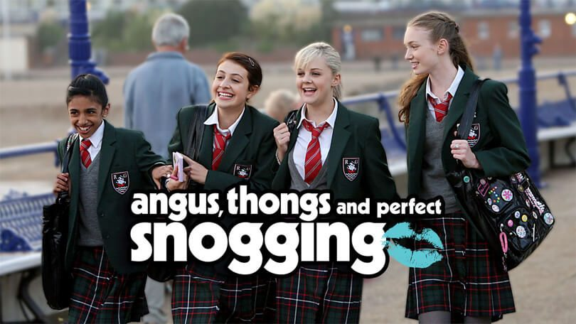 angus thongs perfect snogging Netflix