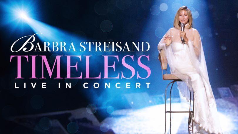 Barbra Streisand Timeless Live in Concert Netflix