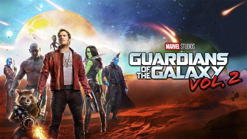 Guardians of the Galaxy vol. 2 Netflix