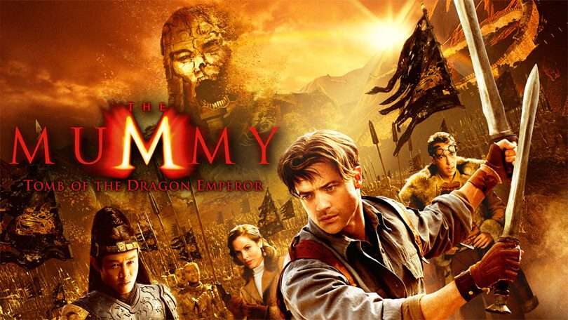 The Mummy- Tomb of the Dragon Emperor (2008) Netflix