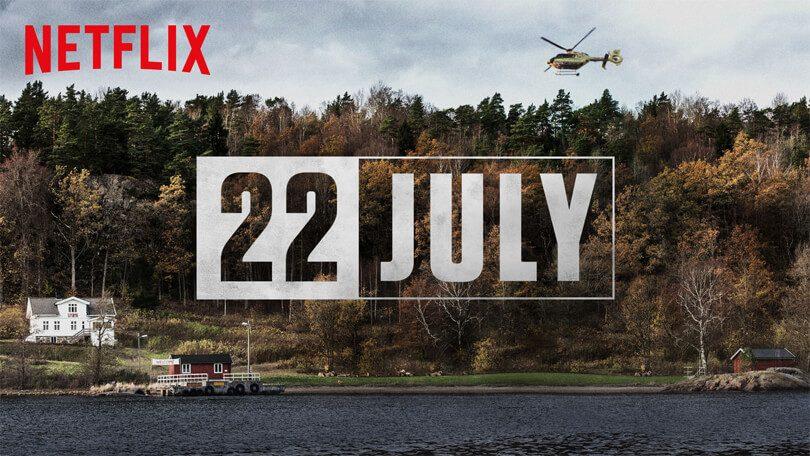 22 July Netflix Nederland