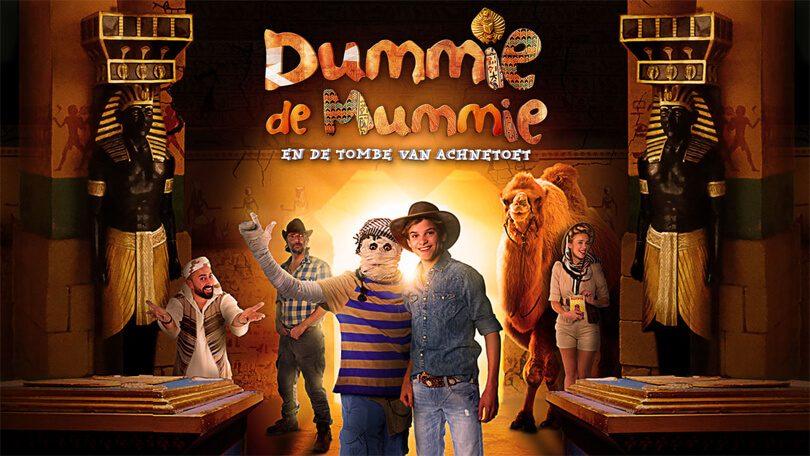 Dummie de Mummie en de tombe van Achnetoet Netflix