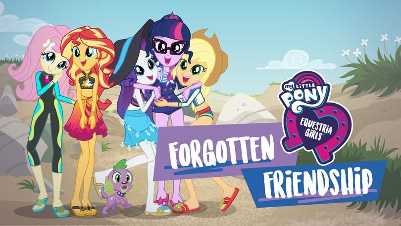 My Little Pony Equestria Girls Forgotten Friendship Netflix