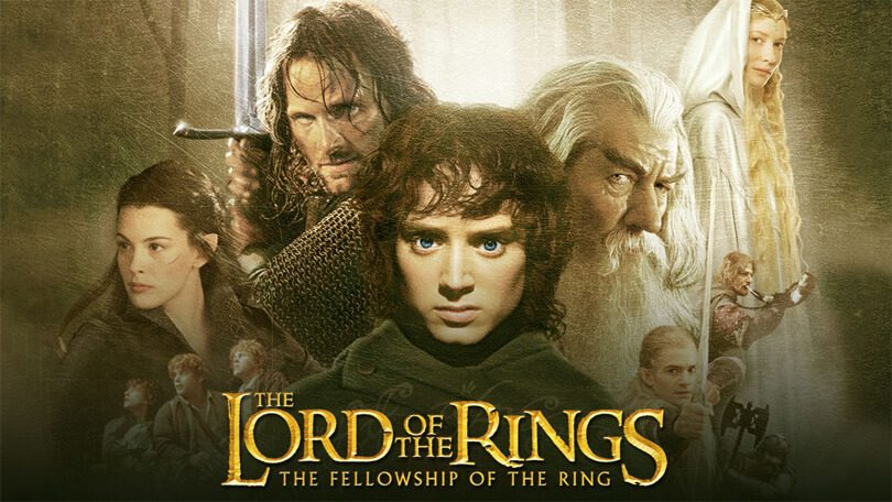 Lord of the Rings Fellowship of the Ring netflix
