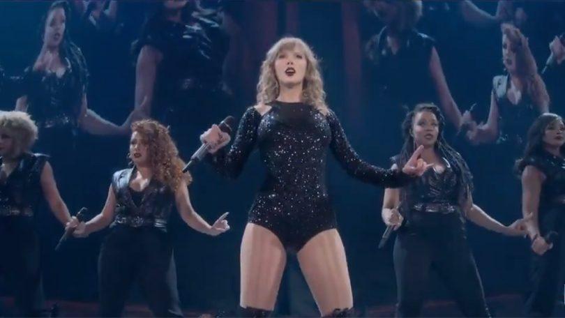 Taylor Swift concert op Netflix Reputation Stadium Tour