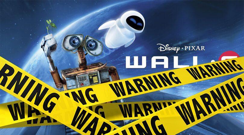 Wall-E verwijderalarm