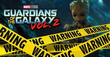 Guardians of the Galaxy Verwijderalarm
