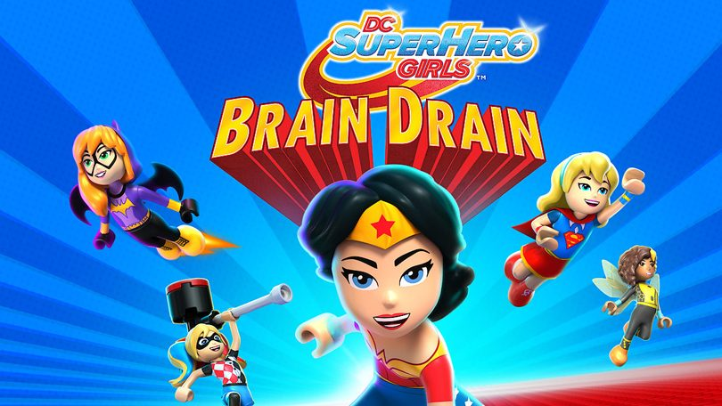 DC Super Hero Girls Brain Drain