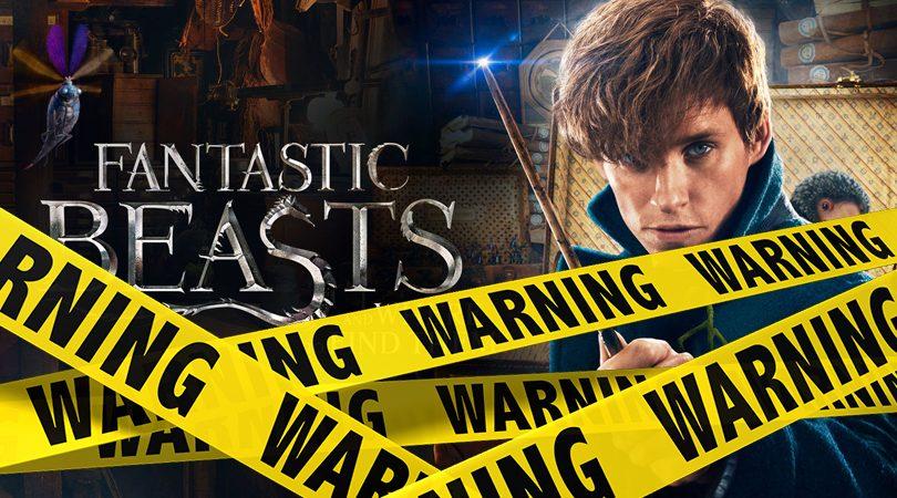 Fantastic Beasts Verwijderalarm