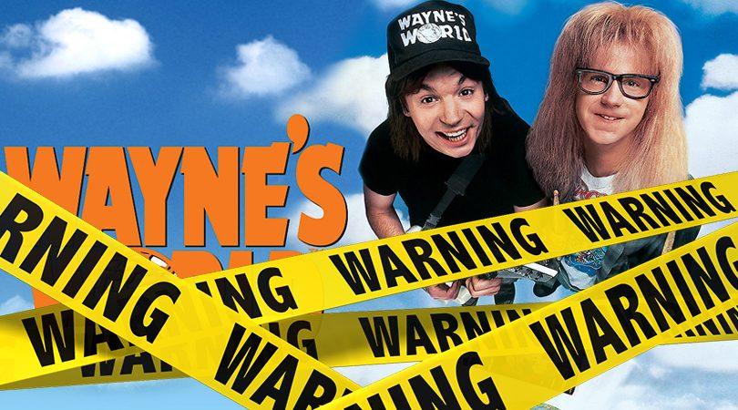 Wayne's World Verwijderalarm