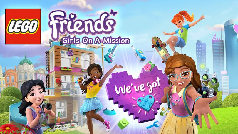 LEGO Friends Girls on a Mission Netflix