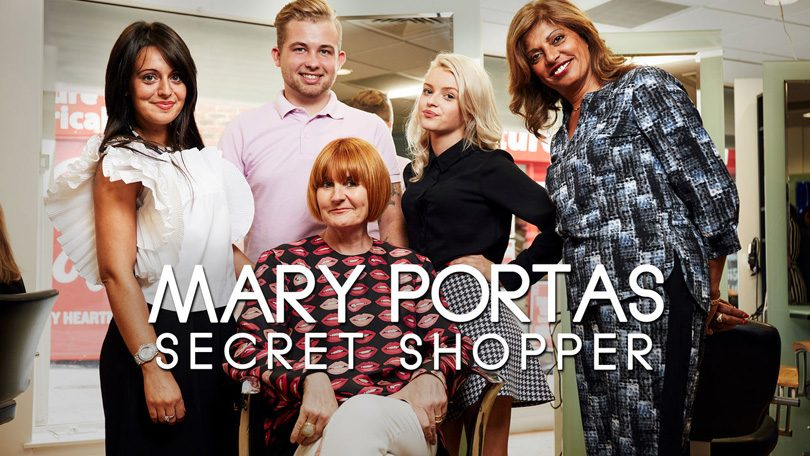 Mary Portas Secret Shopper Netflix