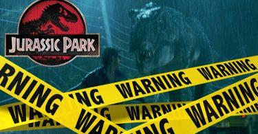 Verwijderalarm Jurassic Park