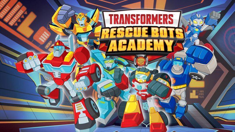 Transformers Rescue Bots Academy Netflix