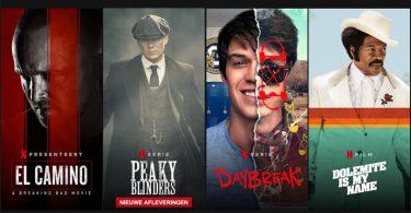 Oktober Netflix nieuw