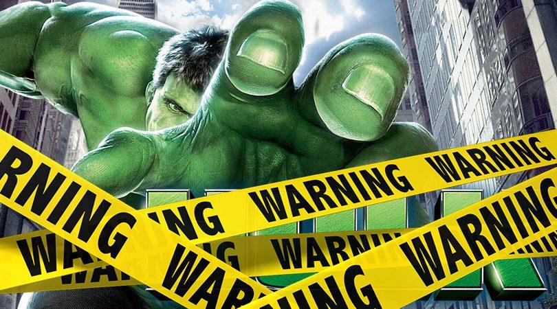 Verwijderalarm The Hulk