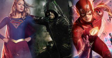 Supergirl Arrow The Flash