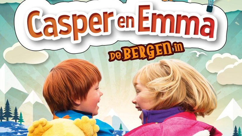 Casper en Emma gaan de bergen in Netflix