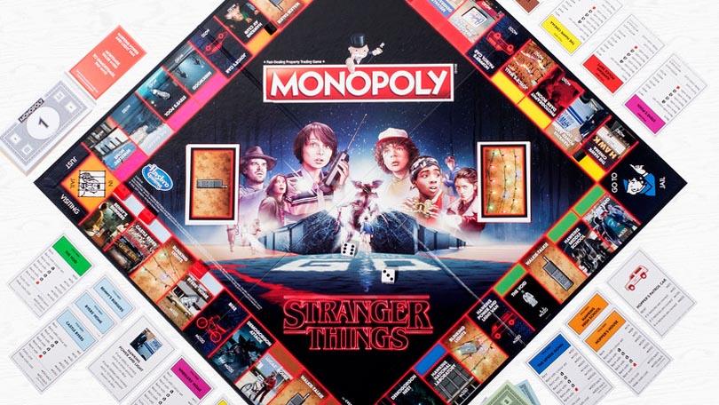 Stranger Things Monopoly bord Netflix