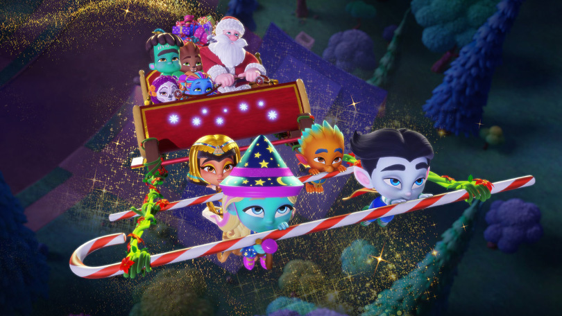 Super Monsters Redden Kerstmis Netflix