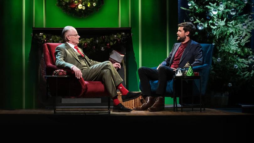 Jack Whitehall Christmas with my Father Netflix