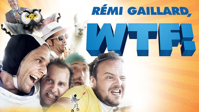 Rémi Gaillard, WTF! Netflix